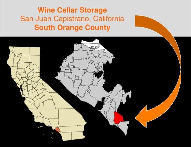 Wine Storage in San Juan Capistrano, Orange County