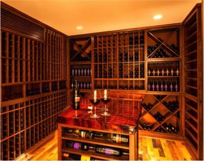 Custom Wine Tasting Room by Trusted Builder Coastal in San Juan Capistrano